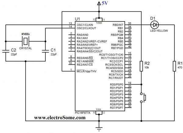pic microcontroller 16f877a tutorial pdf