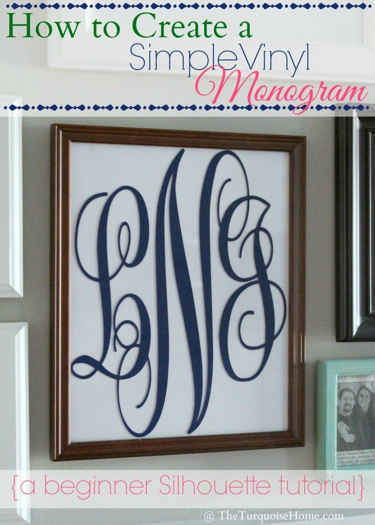 cricut vinyl lettering tutorial