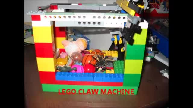 lego claw machine tutorial