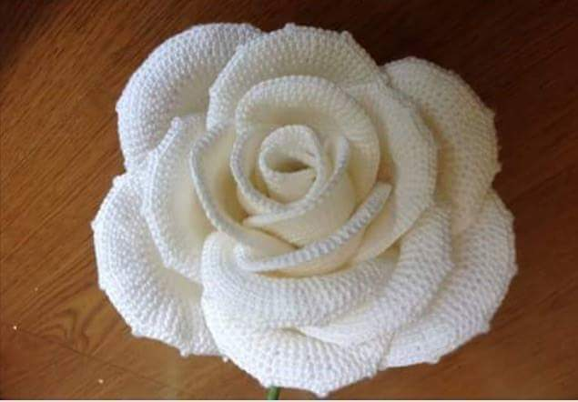 crochet big flower tutorial