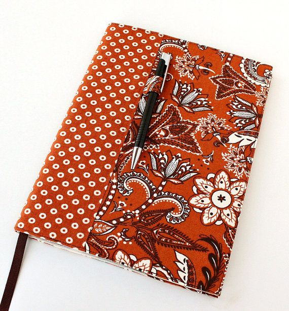 fabric covered composition notebook tutorial