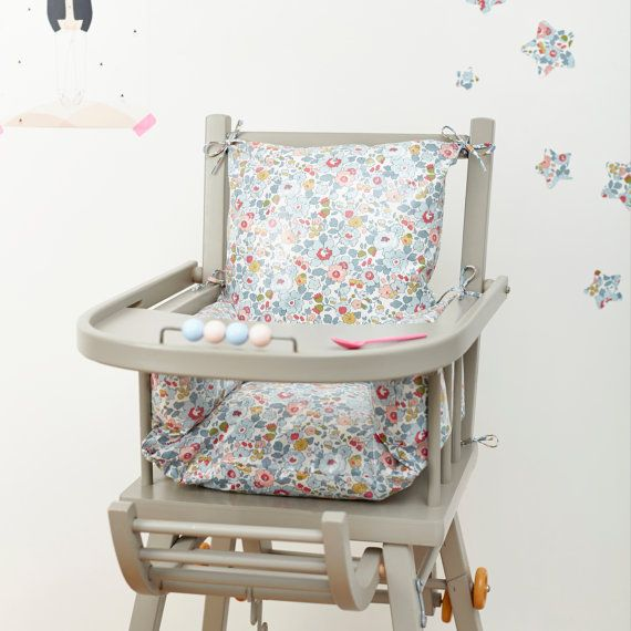 fabric high chair tutorial