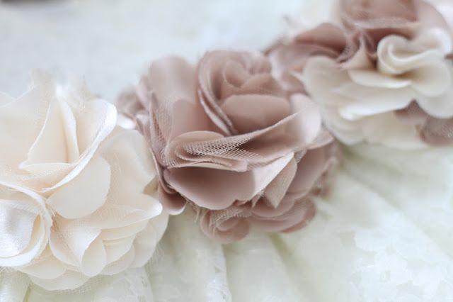 fabric ruffle flower tutorial