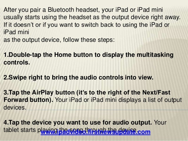 apple ipad tutorial part 2