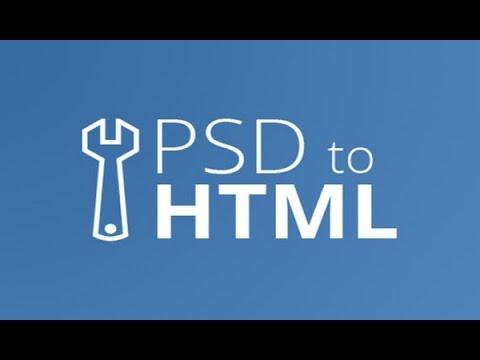 psd to html tutorial step by step