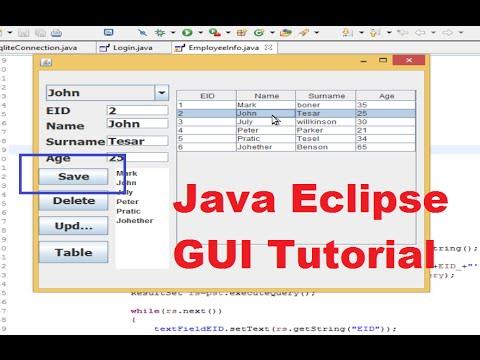 java netbeans desktop application tutorial