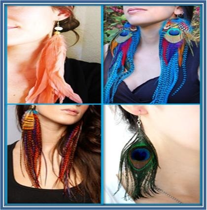 feather ear cuff tutorial