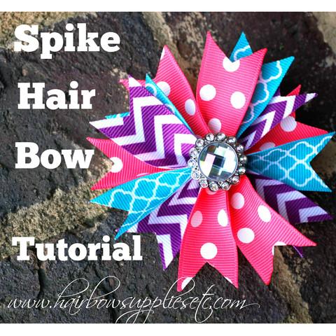 felt hair bow tutorial