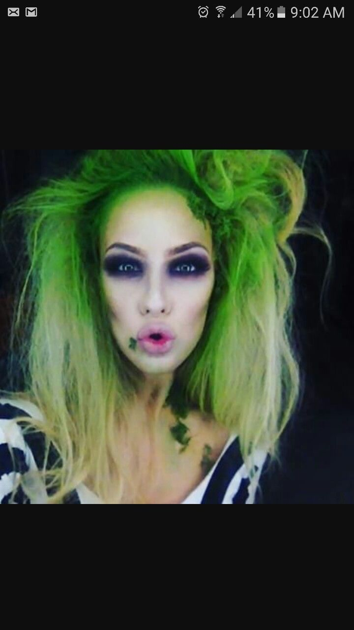 female beetlejuice makeup tutorial