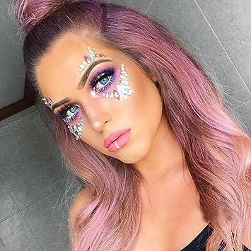 festival face glitter tutorial