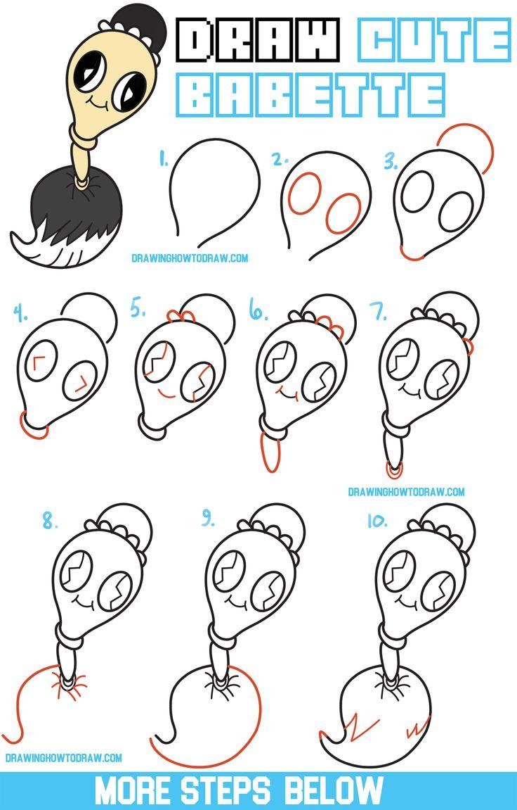 chibi girl drawing tutorial