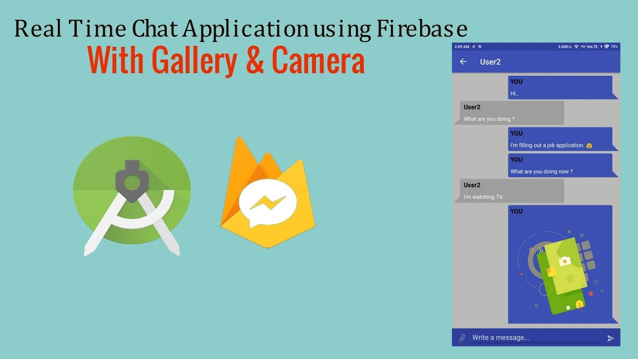 firebase chat app tutorial android