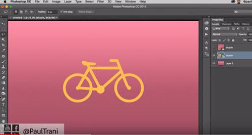 flat design tutorial photoshop