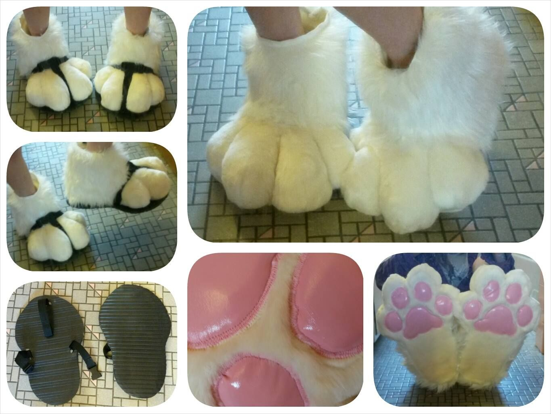 fursuit feet paws tutorial