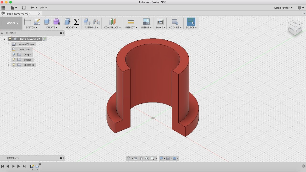 fusion 360 sketch tutorial