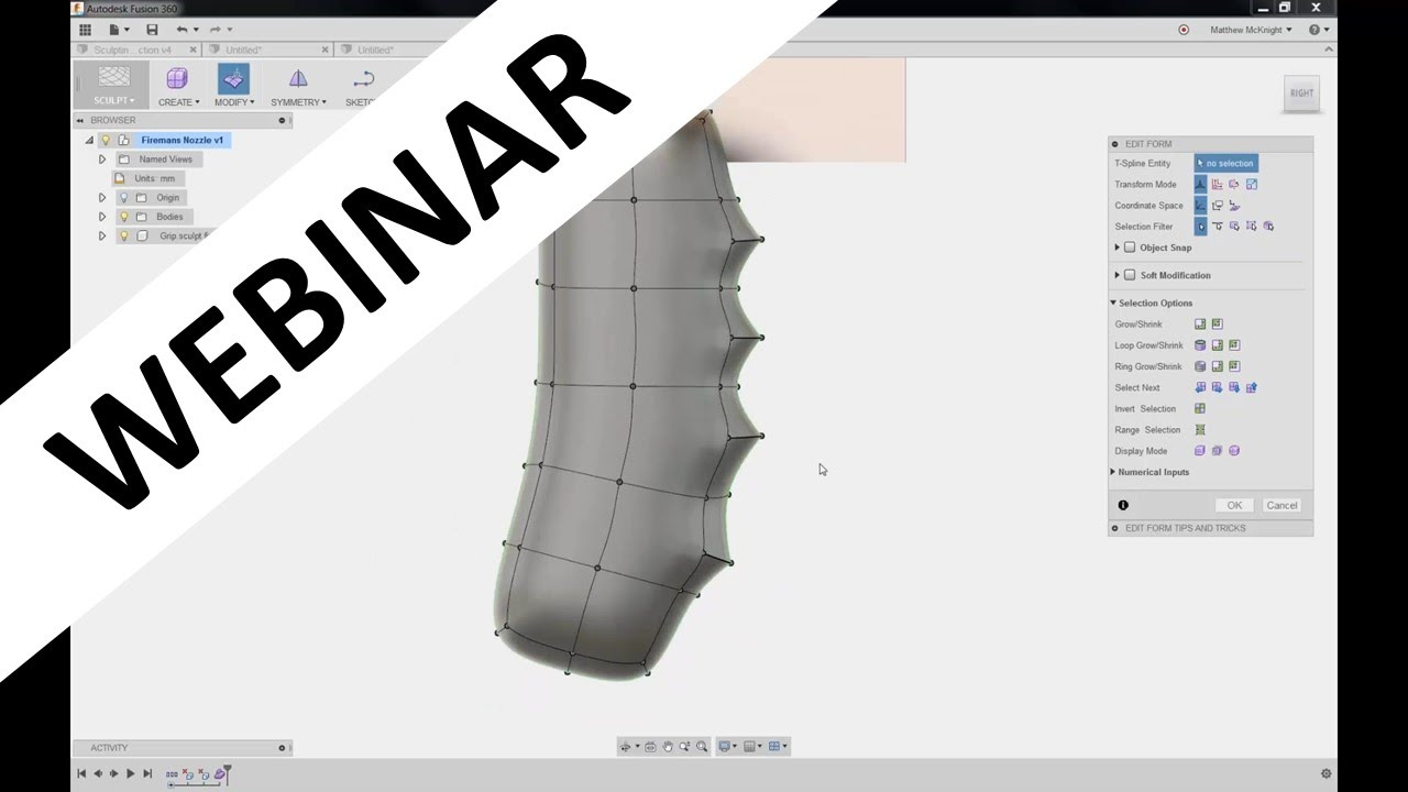 fusion 360 youtube tutorial