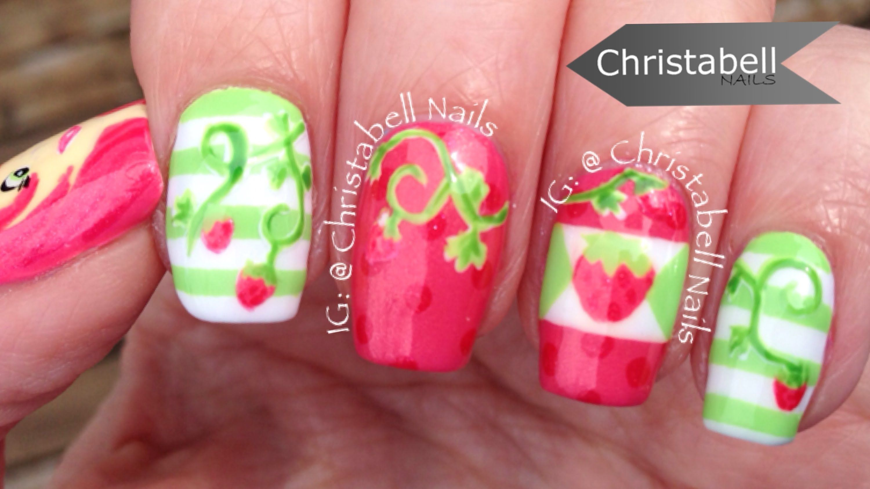 gel nail art tutorial