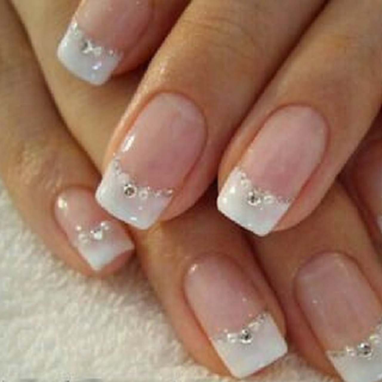 gelish french manicure tutorial