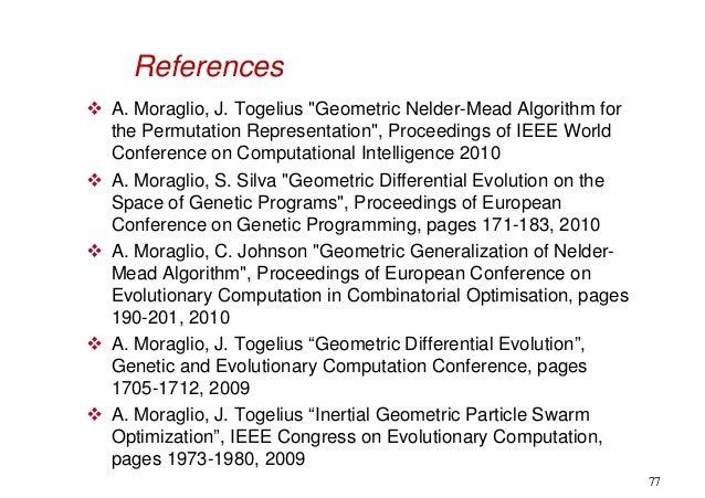 genetic algorithm tutorial point