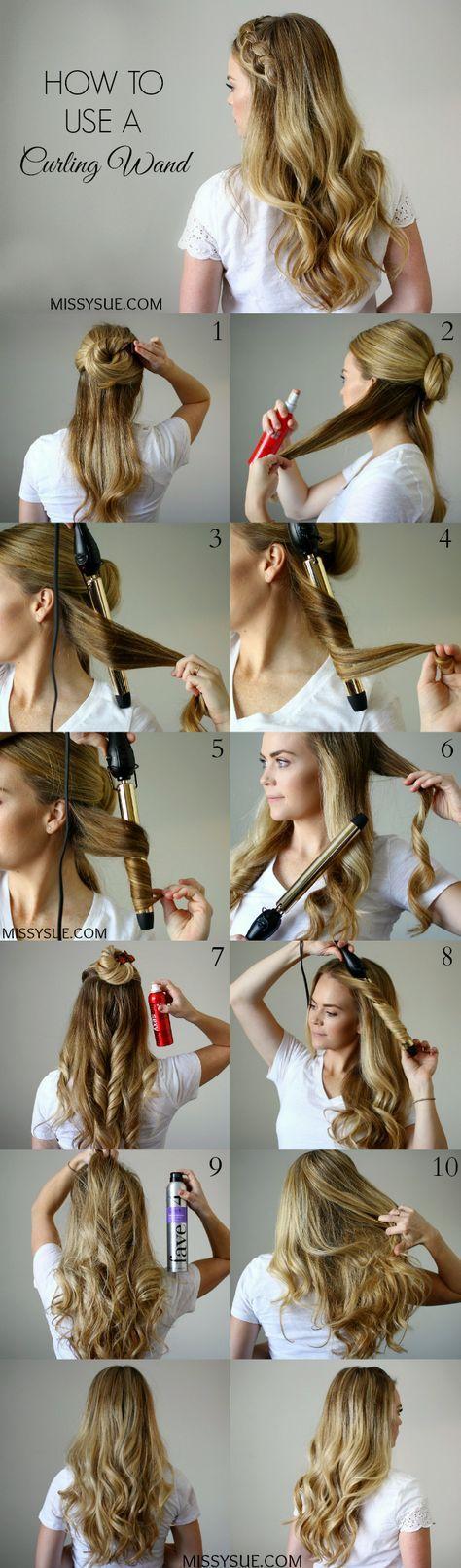 ghd curve creative curl wand tutorial