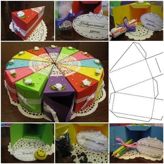 gift box making tutorial