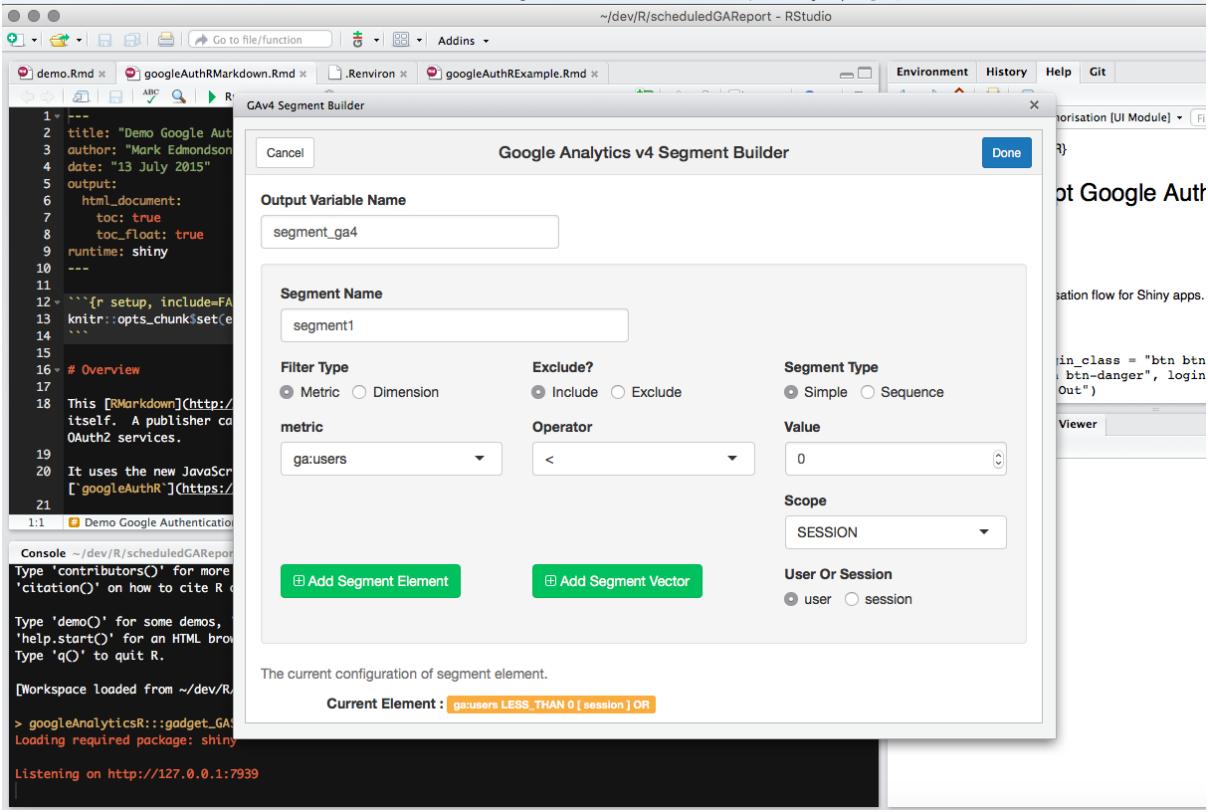 google analytics reporting api tutorial
