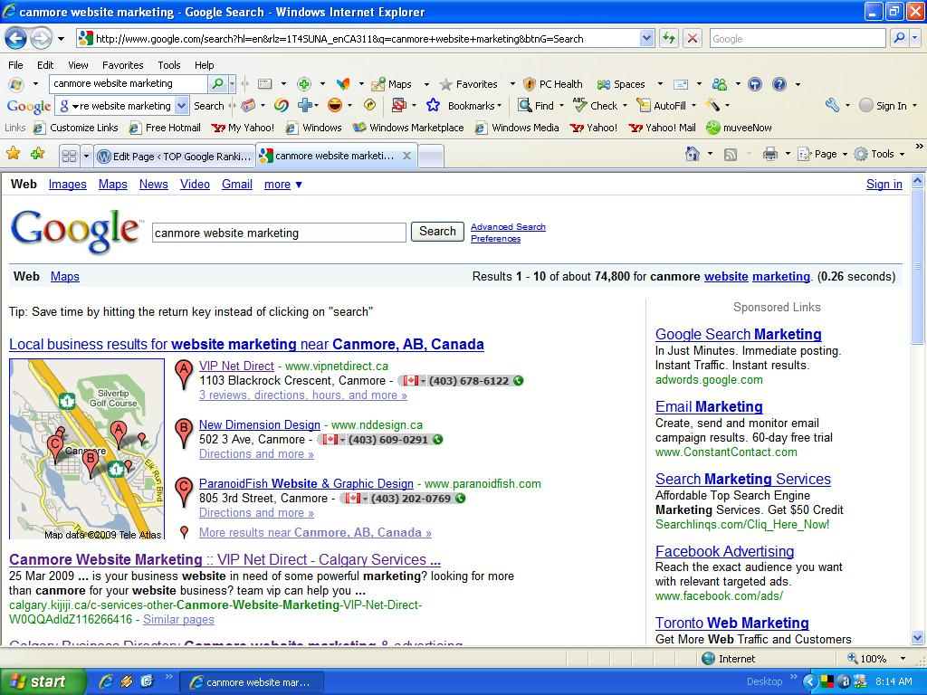 google search engine optimisation tutorial