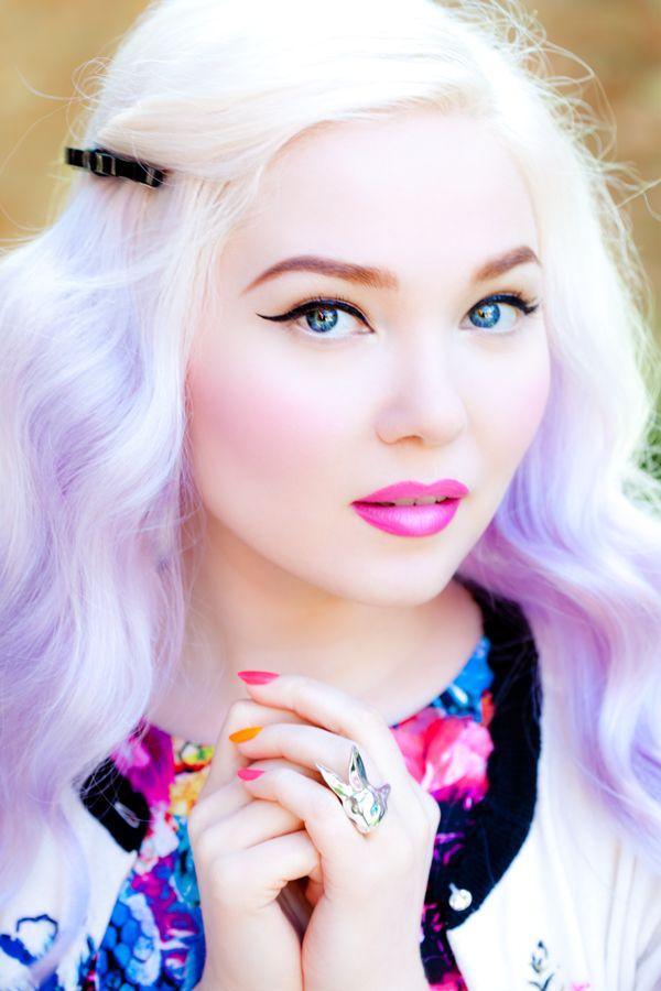 gradient hair dye tutorial