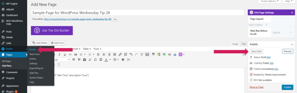 gravity forms wordpress tutorial