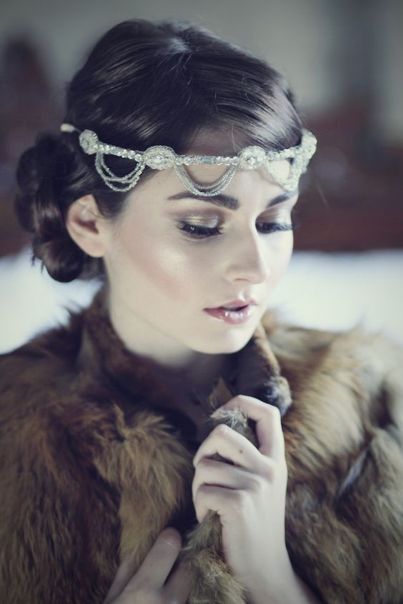 great gatsby hair and makeup tutorial