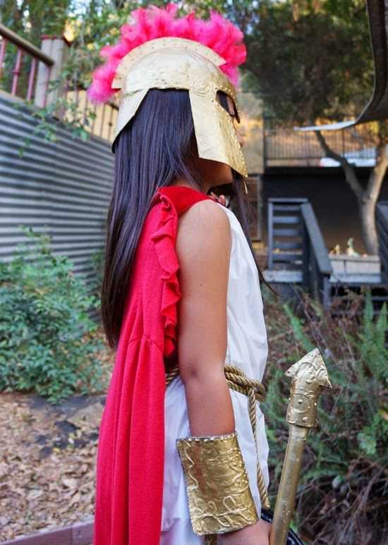 greek goddess costume tutorial