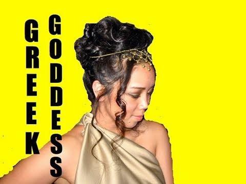 greek goddess hair tutorial