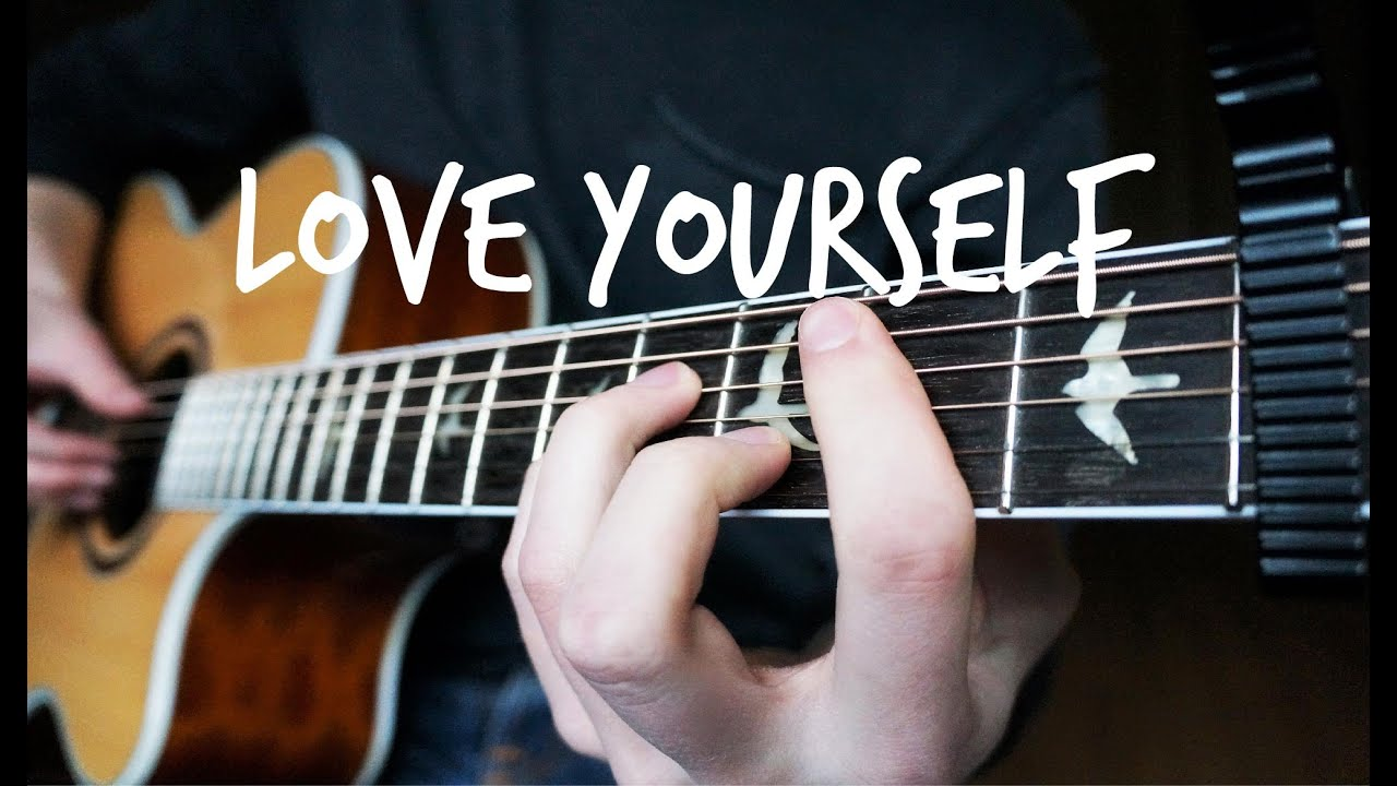 guitar love yourself tutorial