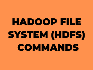 hadoop file system tutorial