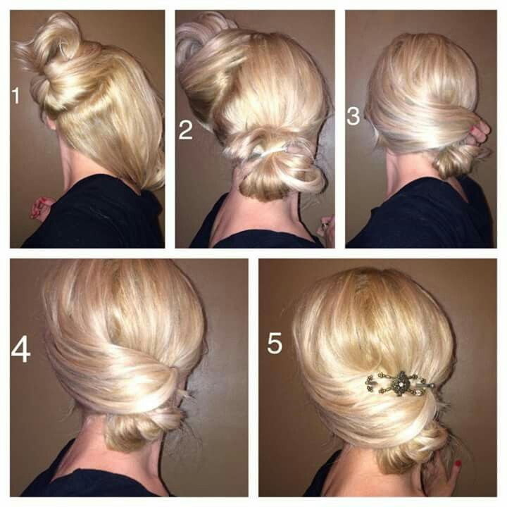 hair bun maker tutorial
