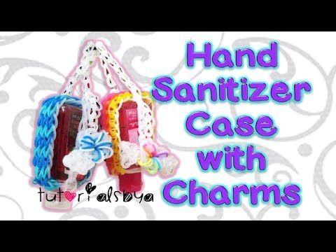hand sanitizer holder tutorial
