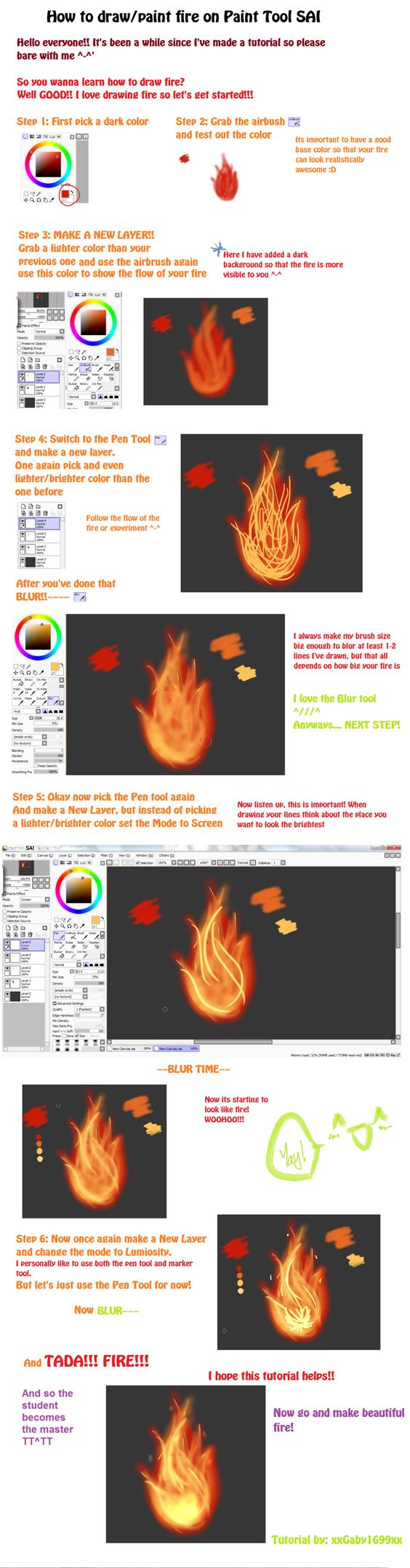 hearts on fire tutorial