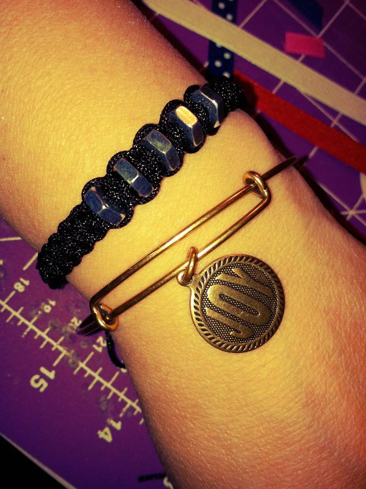 hex nut bracelet tutorial