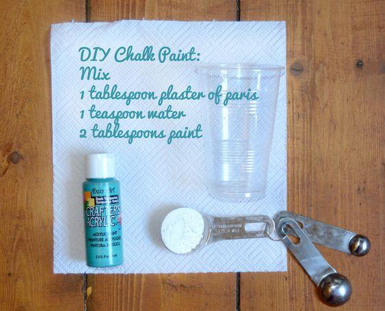 home depot chalk paint tutorial