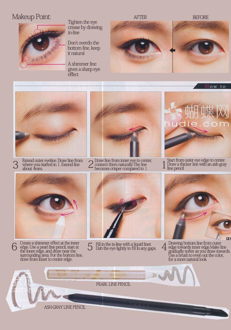 hooded eyes eyeliner tutorial