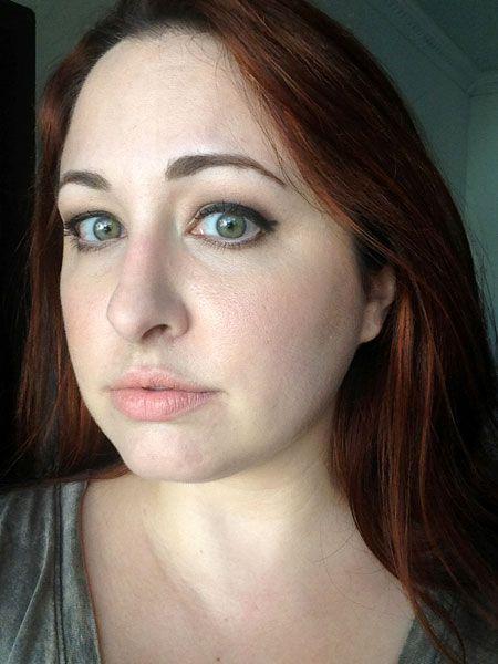 hourglass eyebrow pencil tutorial