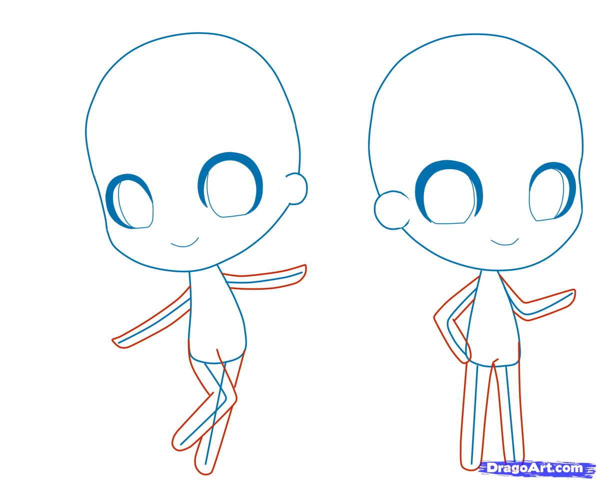 how to draw chibi tutorial