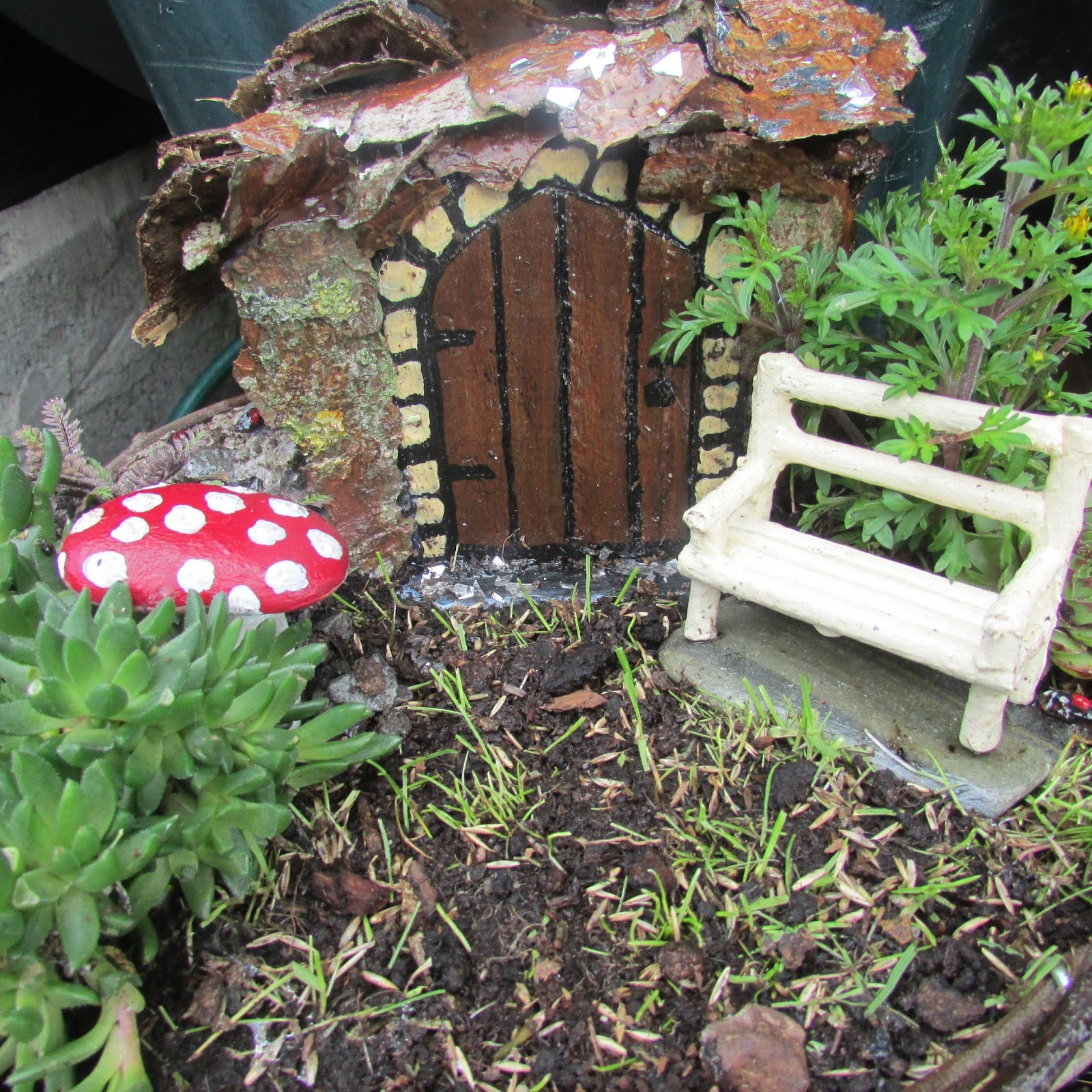 how to make fairy furniture tutorial
