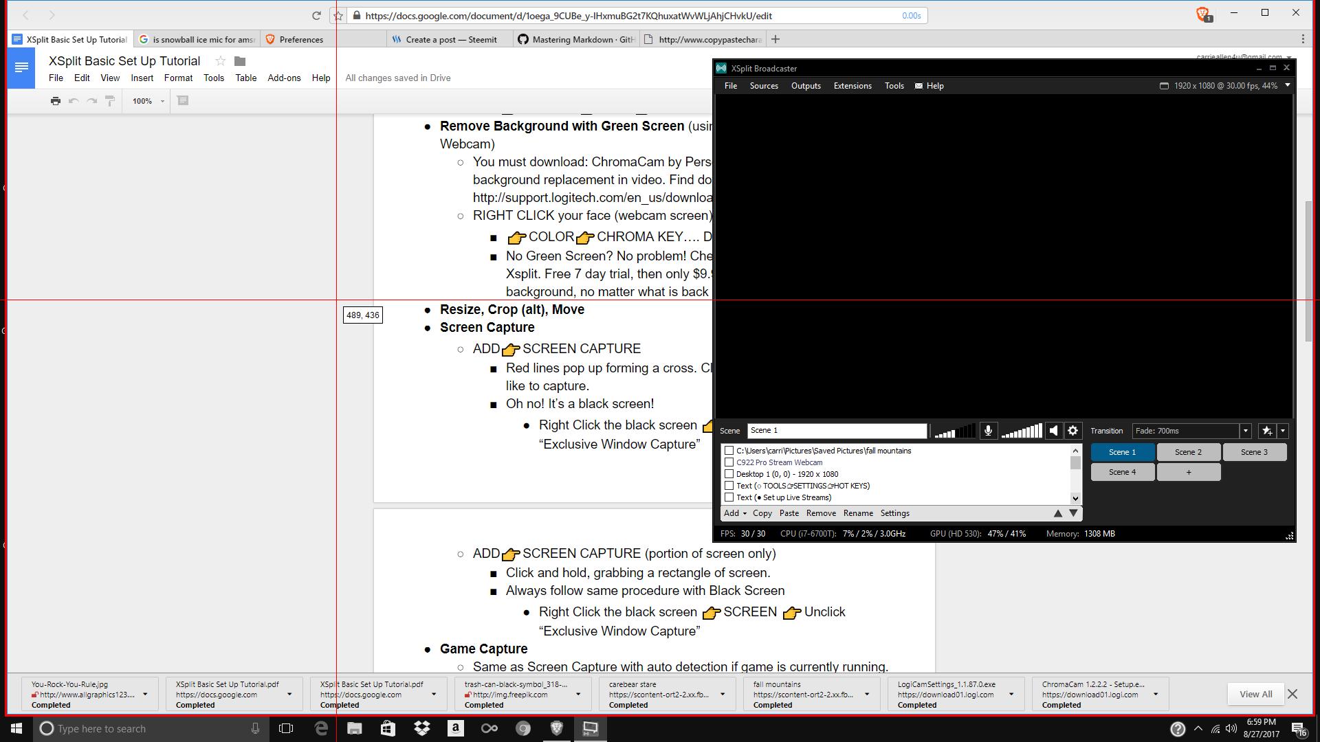 how to make screen capture video tutorial