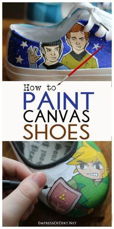 how to paint toms tutorial
