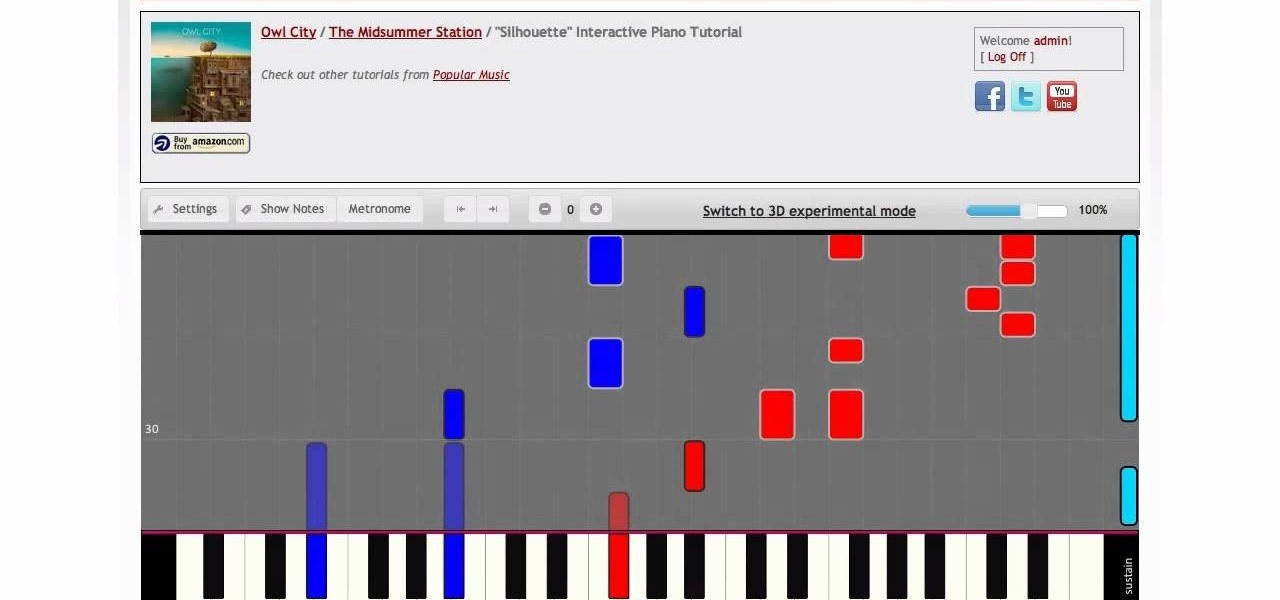 how to play piano tutorial
