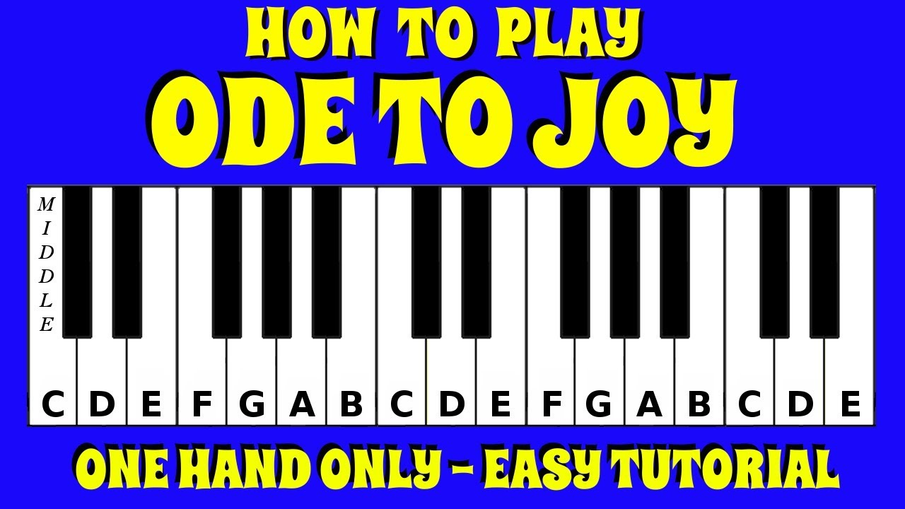 how to play the entertainer on piano tutorial