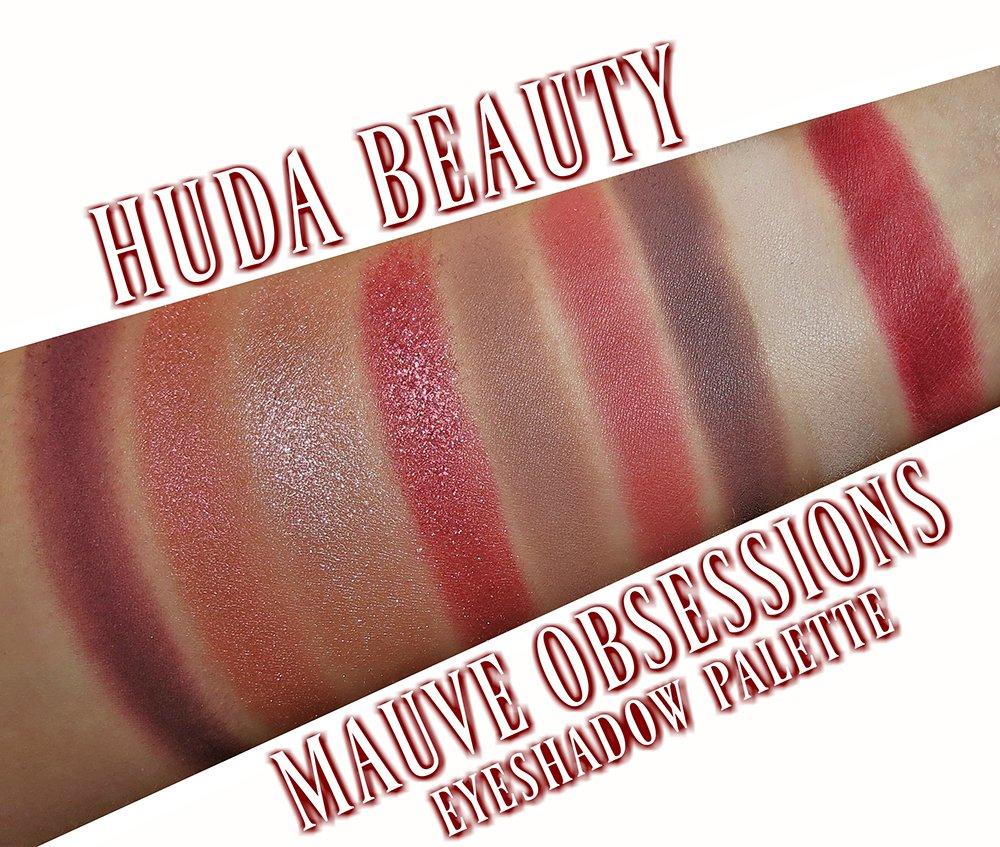 huda beauty mauve obsessions tutorial