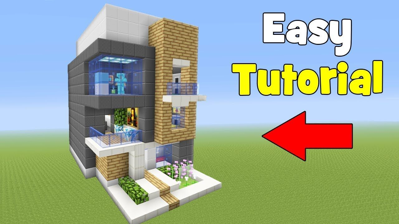 huge minecraft house tutorial
