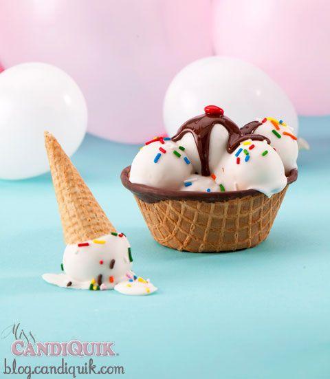 ice cream cake pops tutorial